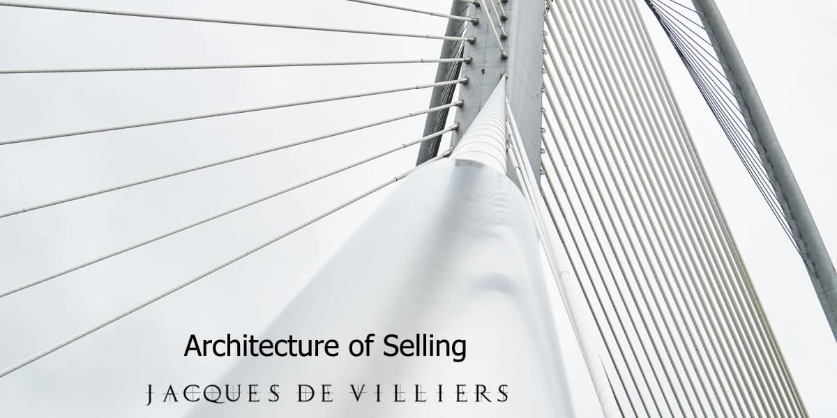 The Architecture of Selling, Foundational sales training in South Africa