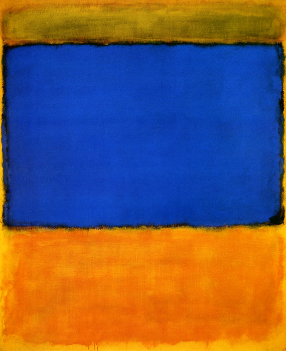 Mark Rothko, Untitled (Oil on canvas)  66 1/2 x 52 3/4 in. (169 x 134 cm)