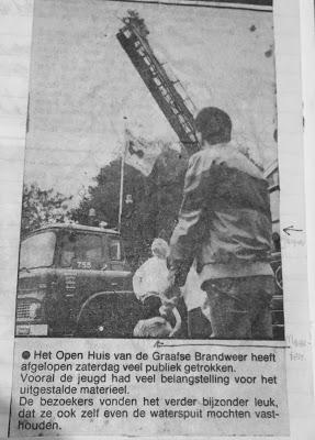 Weer een autobrand in Grave. Ladderwagen uit Cuijk hoefde niet ingezet te worden.