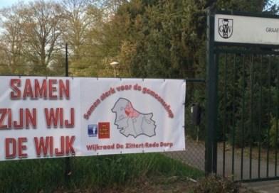 ARENA: Wijkraad Grave west zoekt plek in de wijk en Facebookreacties.