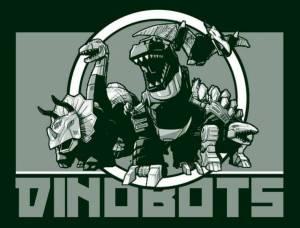 Dinobots Kickball Team Logo created and designed by JA Creative Group in Columbia Missouri