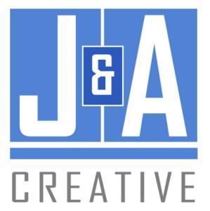 J and A Creative Group Horizontal Logo by JA Creative Group