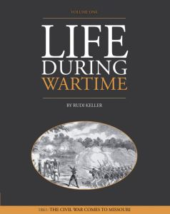 Life During Wartime - 1862 Volume 1 Book Cover designed by JA Creative Group