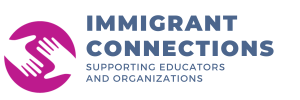 Immigrant Connections Logo designed by JA Creative Group
