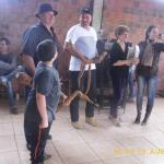 Administração Municipal participou da Festa da Mandioca da Comunidade Rincão São Luiz
