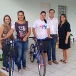 Estado doa bicicletas para uso das visitadoras do PIM