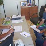 PONTE COMUNIDADE QUILOMBOLA: Prefeitos de Jacuizinho e Tunas realizam reunião para definir construção da ponte.