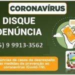 COVID-19: Secretaria da Saúde dispõe de número telefônico para dúvidas e denúncias.