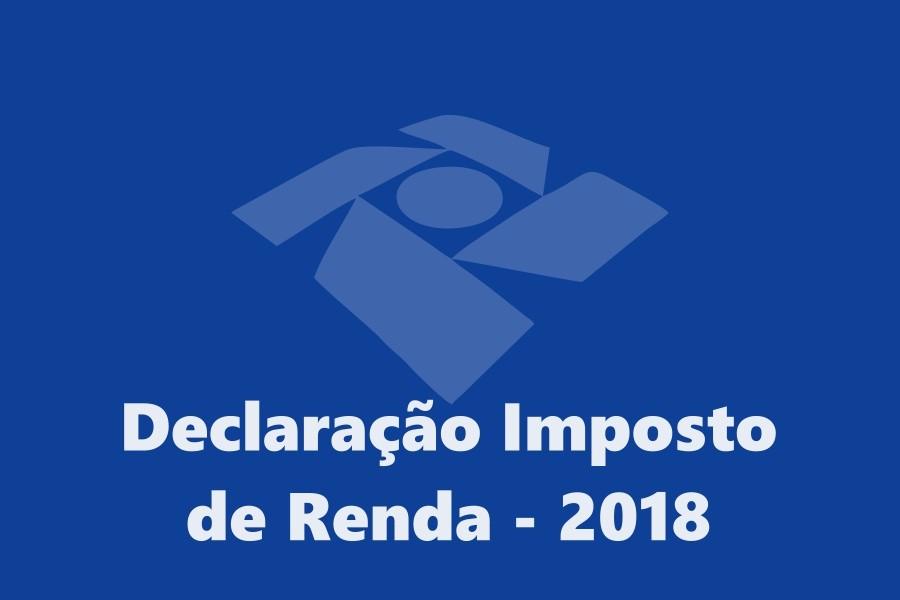 Resultado de imagem para imposto de renda 2018