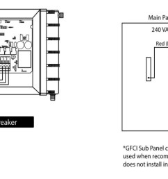 hot tub electrical preparation for your jacuzzi spa disconnect panel wiring diagram 15 [ 2000 x 502 Pixel ]