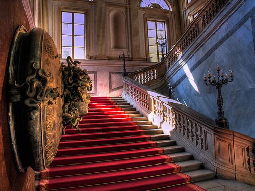 Medusa Stairway, Milan, Italy