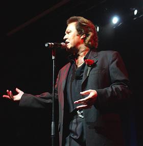John Rowles in tour in Australia, circa agosto 2009