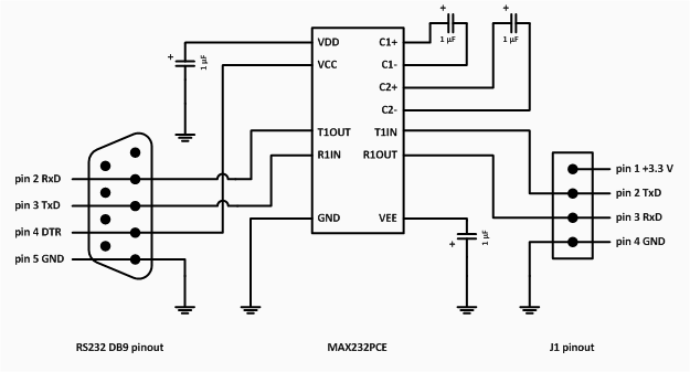 Rs232 Circuit Diagram, Rs232, Free Engine Image For User