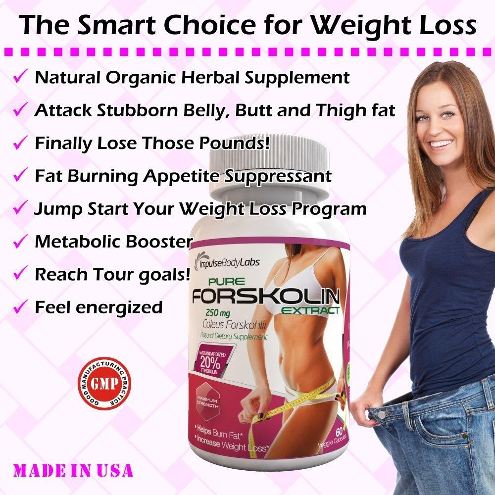 forskolin organic healthy herbal metabolism booster weight reducer 60 veggie capsules info 2
