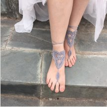 Crochet Barefoot Sandals In Jamaica