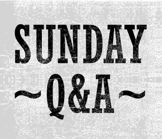 Sunday Q&A: Writing Inspiration