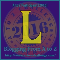 A to Z Challenge:  L is for LUST