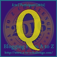 A to Z Challenge:  Q is for QUESTIONS
