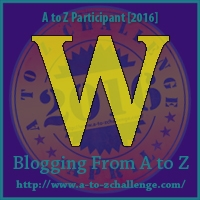 A to Z Challenge:  W is for WAITING