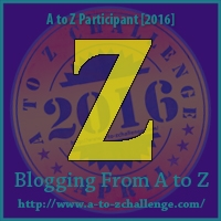 A to Z Challenge:  Z is for ZIGZAG