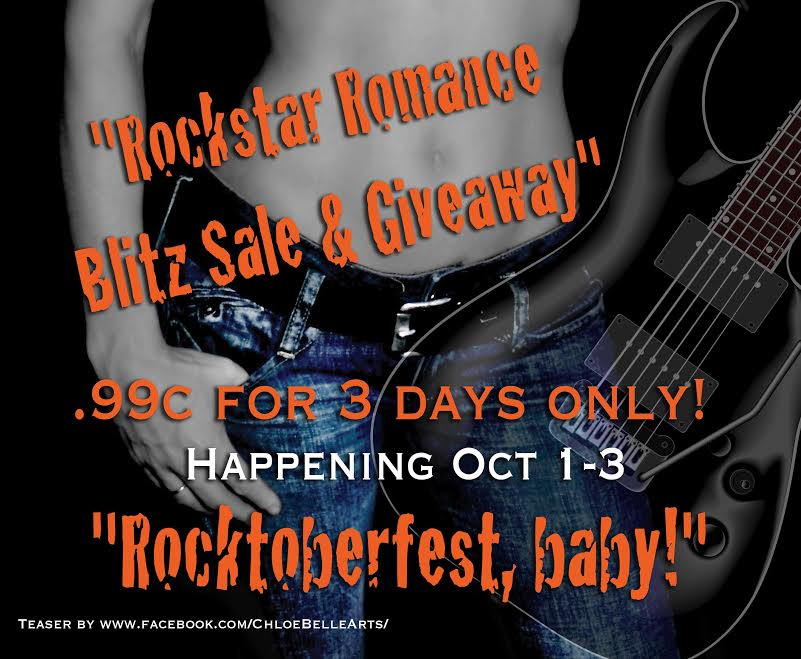 Rocktoberfest: Great Rock Star Romance Reads for Less!