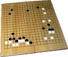 Picture of Go game board
