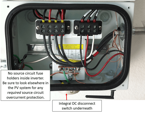 small resolution of inverter with dc disconnect
