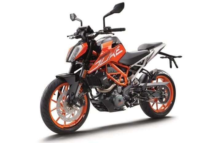 KTM Duke 390 naranja