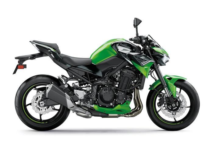 Z900 2020 verde