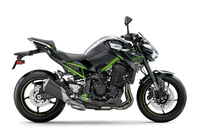 Z900 2020 color negro/gris