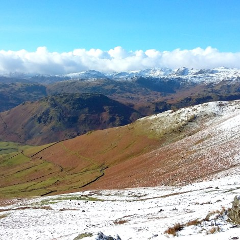 The High Fells in all their glory.