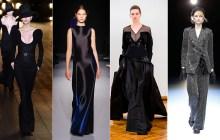Semanas de moda miram no Oscar com seleção deluxe de vestidos pretos