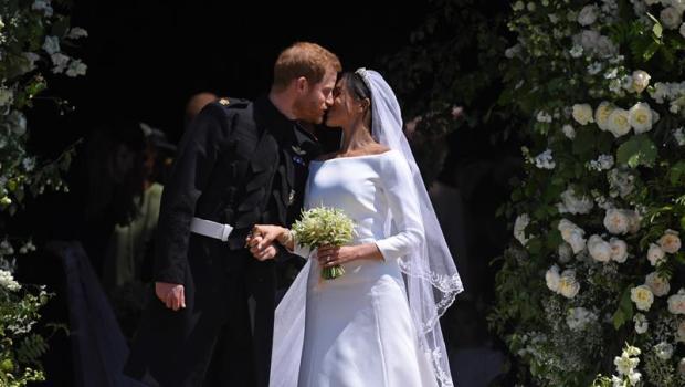 Príncipe Harry e Meghan Markle se casam em Windsor Foto EFE Neil Hall