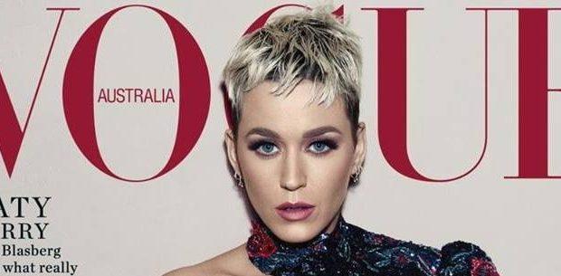 Katy Perry tá deslumbrante e super camaleoa em ensaio para a Vogue Austrália