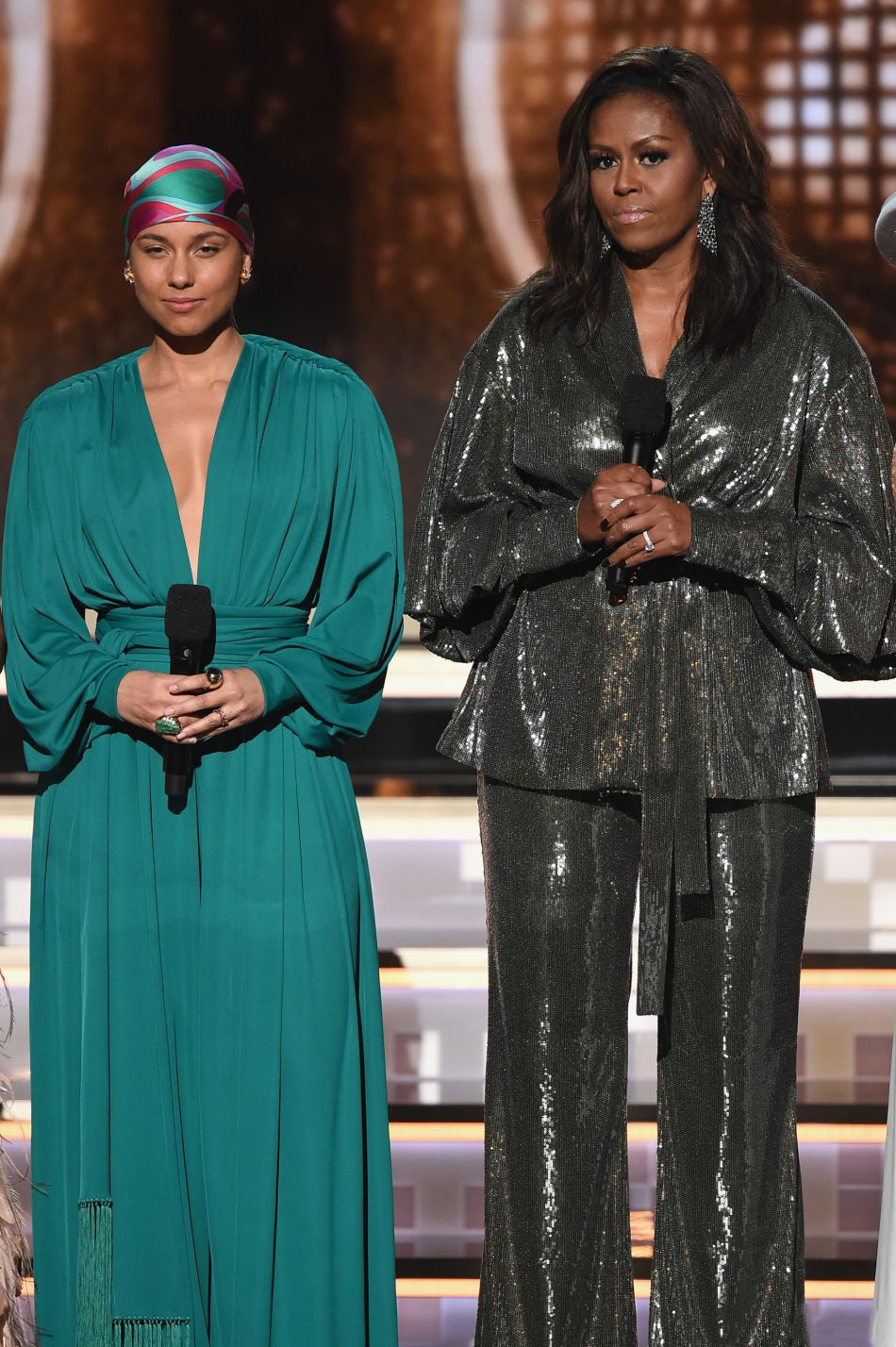 Grammy 2019: Meus looks favoritos dos famosos no tapete vermelho Alicia Keys Michelle Obama