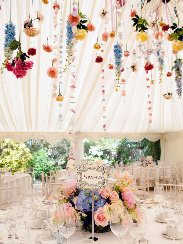Wedding Flowers How To Style A Marquee Our Blog