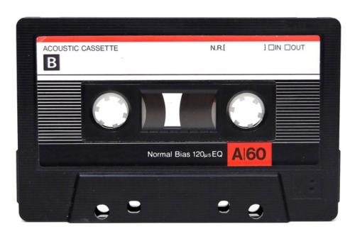 music cassette tape