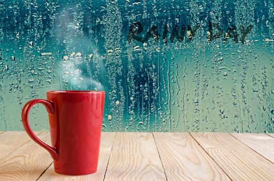 spring rain and tea