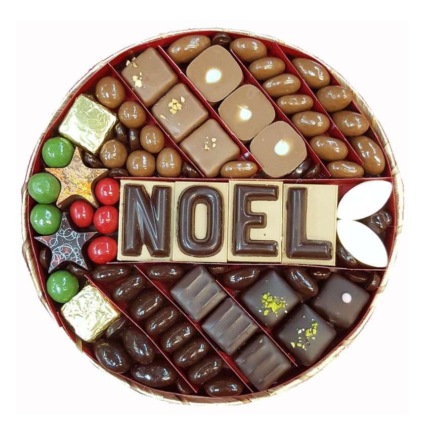 Plateau Chocolat Noel