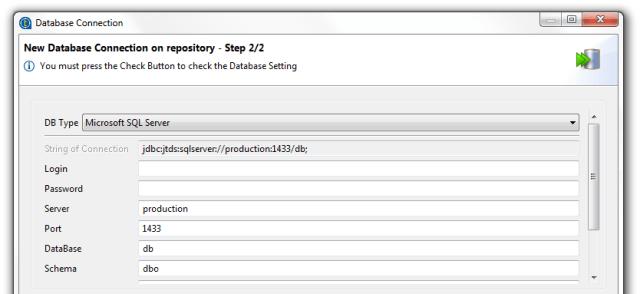 Talend SQL Server Active Directory 02