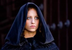 la actriz Michelle Jenner de la serie Isabel