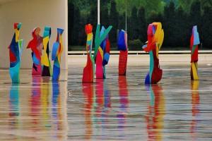 Esculturas de Cristobal Gabarrón