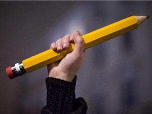 El lápiz simbolo de la libertad
