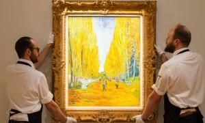 L'Allée des Alyscamps en Sotheby (NY)