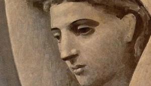 Detalle de Busto de mujer (Picasso)