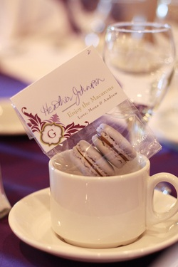 French Macaron Wedding Favours in Vancouver BC Canada