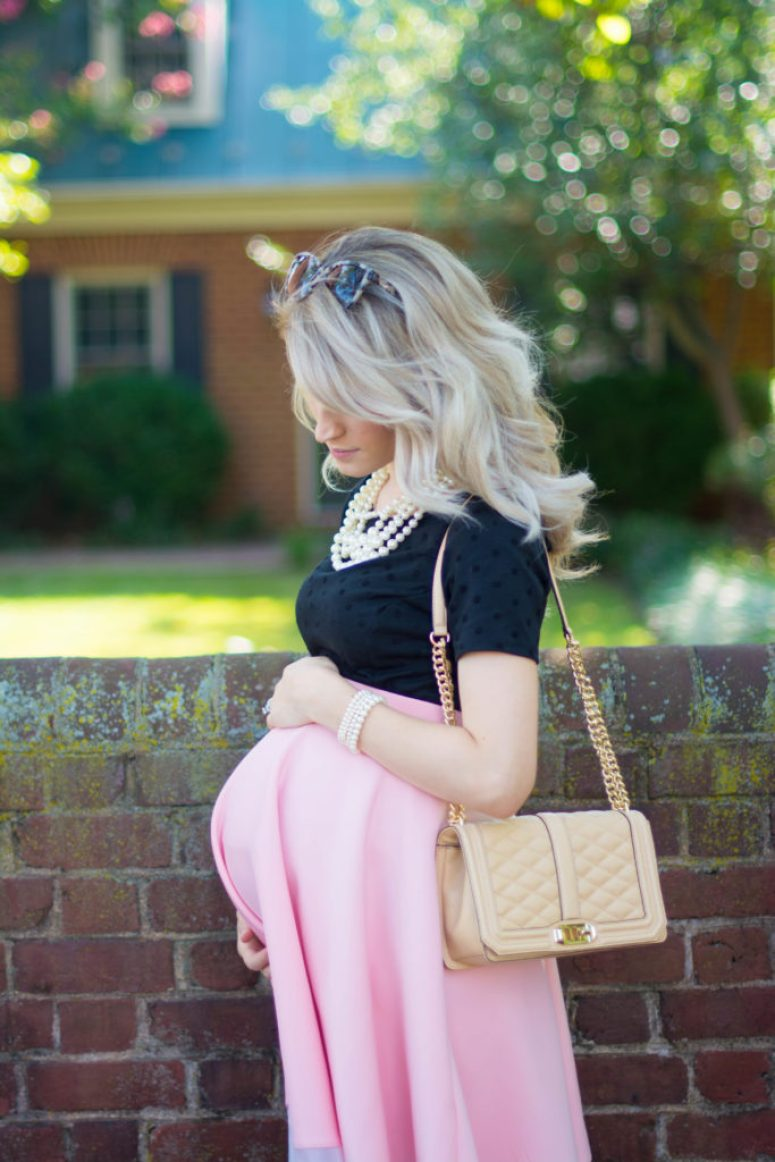 The Best Girly Maternity Look-1-10