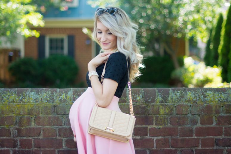 The Best Girly Maternity Look