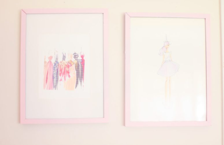 Girly & Glam Bedroom Makeover