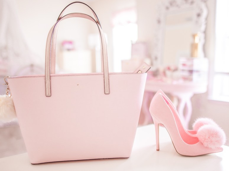 Kate Spade New York Small Harmony Pink Bon Bon & Rose Gold Review